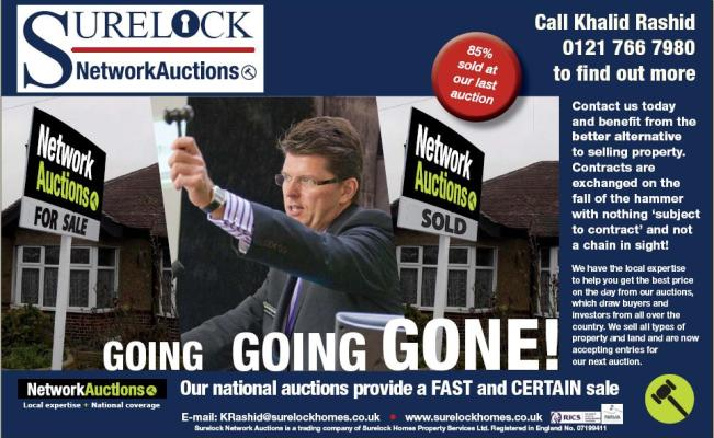 Surelock Network Auctions